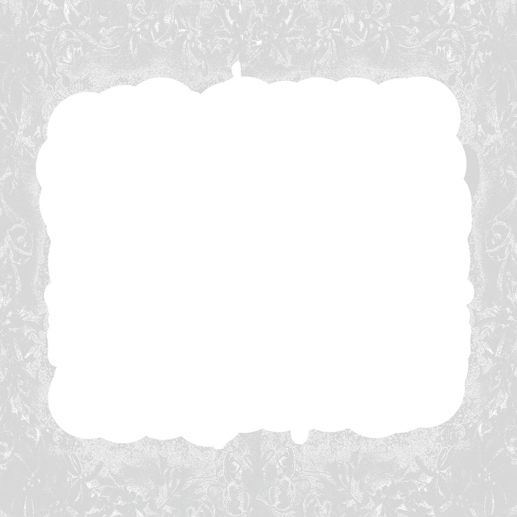 Белый муар по периметру